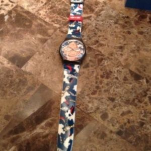 "Swatch Accessories - 1986 THE CLUB ""Looka"" GZ700 Swatch Watch"